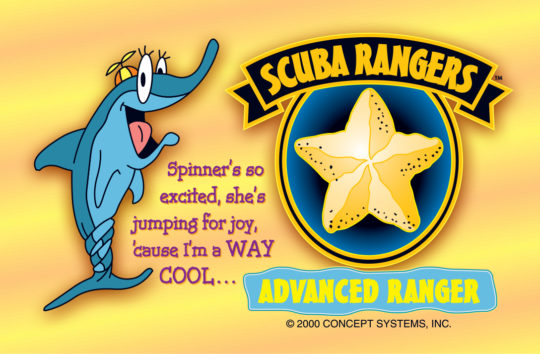 Scuba Rangers Student c-cards.indd