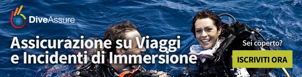Assicurazione subacquea con sconto Diving in Elba