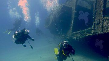 Speciale Halloween – storie di fantasmi per subacquei